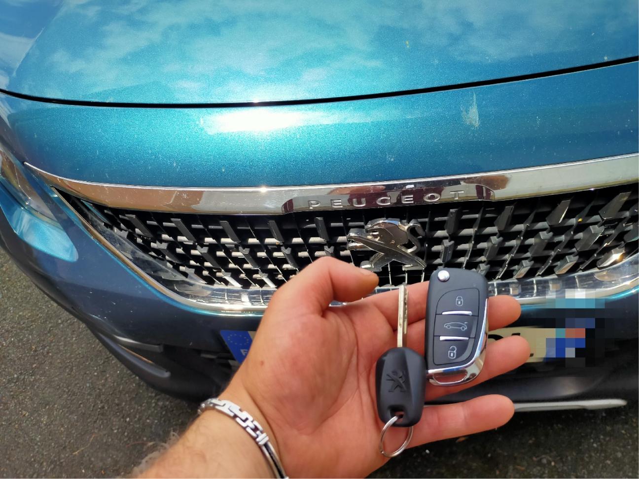 clefs de voiture